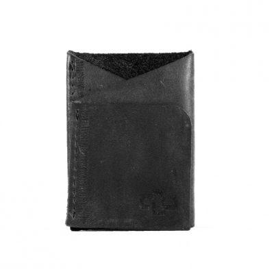 Astin Geometric Card Holder Black