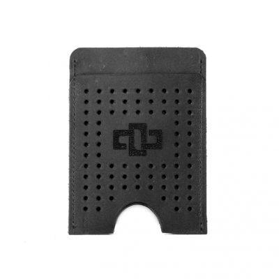 Franklin Slim Vertical Card Holder Black
