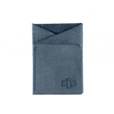 Astin Geometric Card Holder Denim