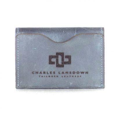 Dakota Folded Curved Card Holder Denim 1