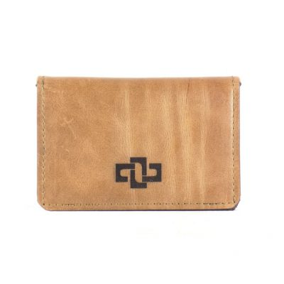 Mansfield Pouched Card Holder Cognac 1