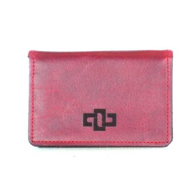 Mansfield Pouched Card Holder Ruby 1