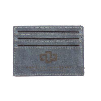 Mansfield Streamline V6 Card Holder Denim 1