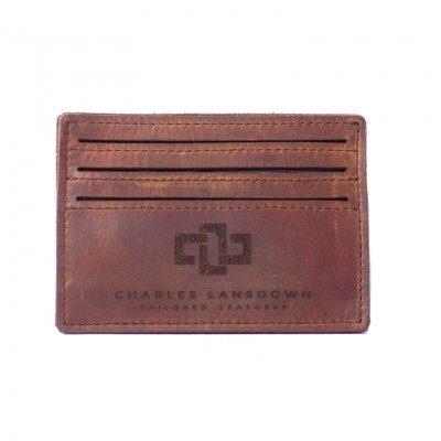 Mansfield Streamline V6 Card Holder Tobacco 1
