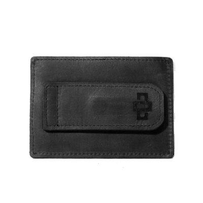 Mansfield Streamline V6 Money Clip Card Holder Black 1